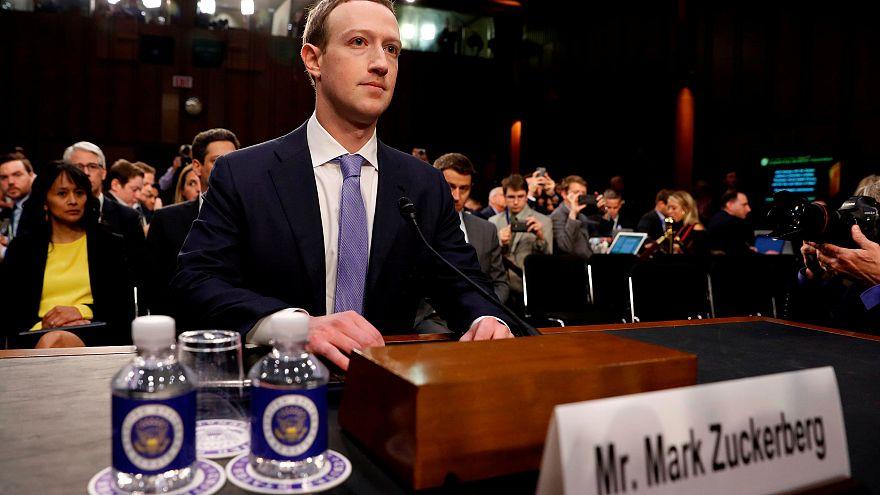 Zuckerberg Avrupa'da ifade verecek