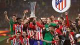 أتلتيكو مدريد يقسو على مارسيليا بثلاثية ليفوز بلقب الدوري الأوروبي