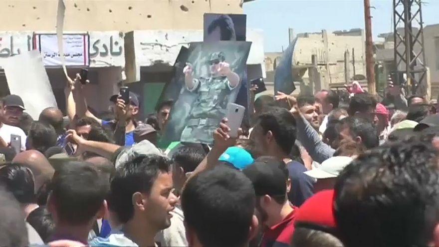Das Zentrum Syriens ist wieder unter Kontrolle des Regimes