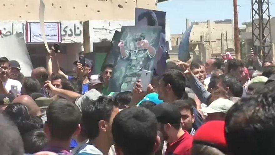 El ejército sirio recupera el control del centro del país