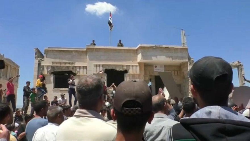 Syria: regime forces retake rebel-held Rastan