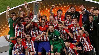 Atlético de Madrid vence Liga Europa com recital de Griezmann