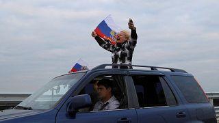 Движение по Крымскому мосту открыто