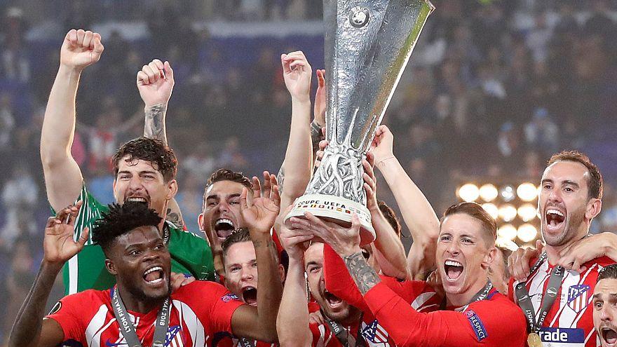 Kings of Lyon: Atletico Madrid beat Marseille in Europa League final