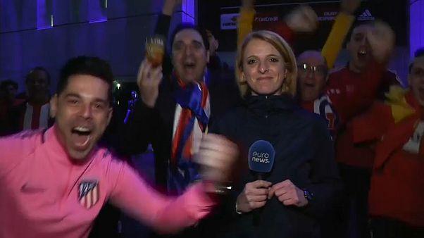 Friedlich dem Gegner gratulieren: Fanreaktionen auf das Europa-League-Finale