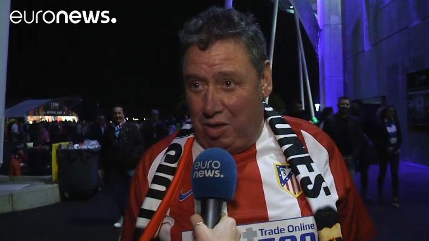 Football : les Madrilènes célèbrent la victoire de l'Atlético
