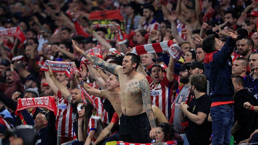 Atletico Madrid UEFA Avrupa Ligi Kupası'nın coşkusunu yaşıyor