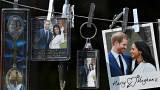 Souvenirs themed on the forthcoming royal wedding