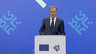 'With friends like that who needs enemies': Tusk on Trump