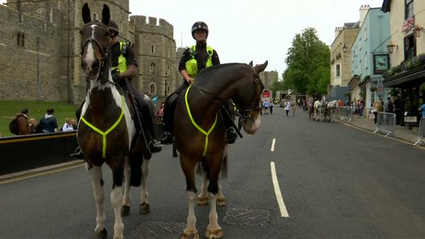 Tight security for Britain's Royal Wedding