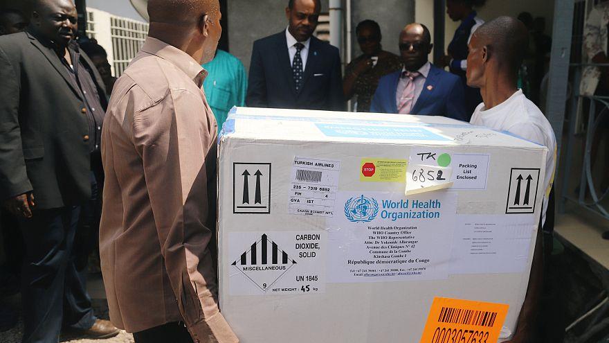 RDC : 5 400 doses de vaccin contre Ebola