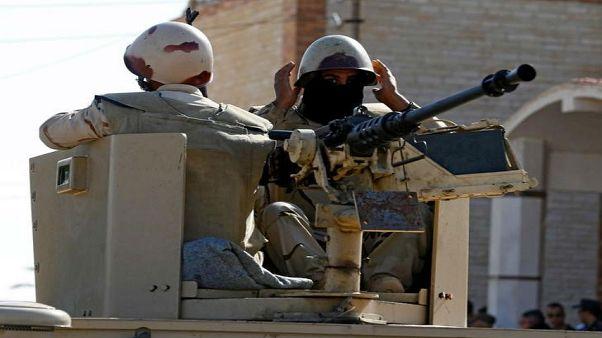 """صورة للجيش المصري ضمن عملية """"سيناء 2018"""""""