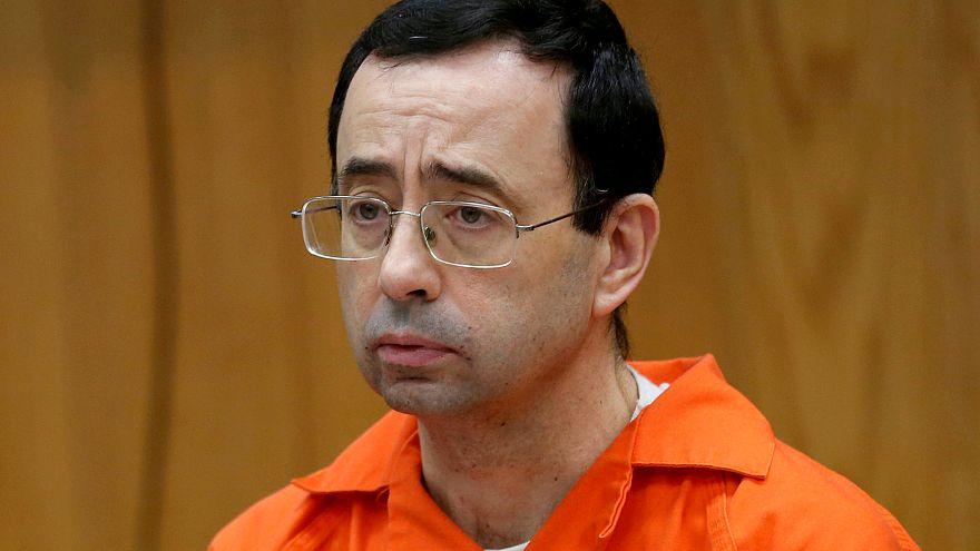Larry Nassar, lors de l'un de ses procès