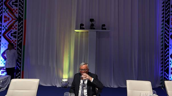 Jean-Claude Juncker at the EU- Western Balkan summit