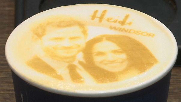 """""""ميغهاريتشينو"""": قهوة جديدة بطعم العروسين ميغان وهاري"""