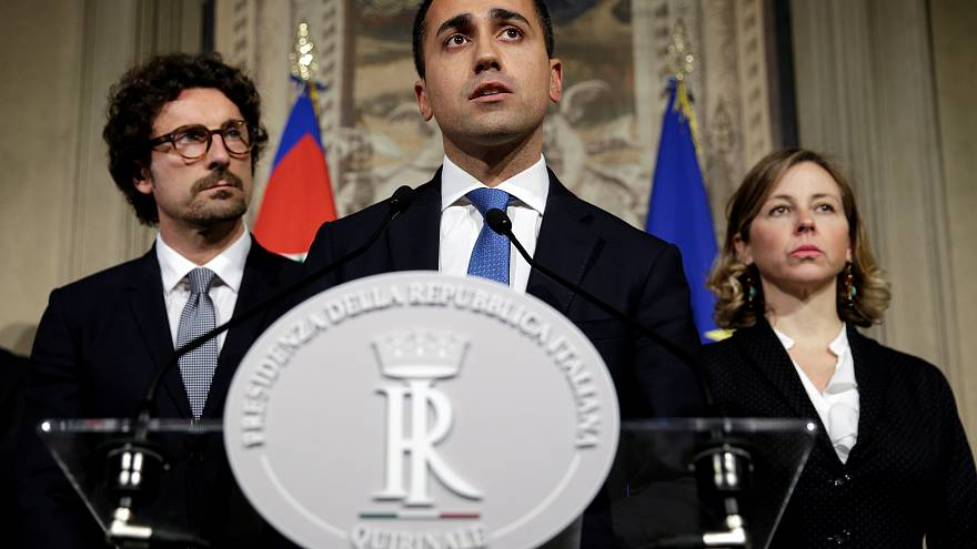 File photo of Luigi Di Maio