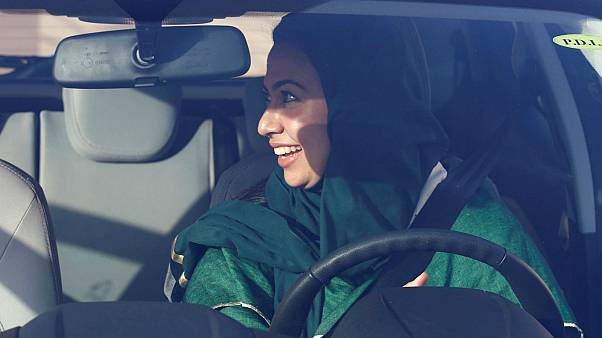 Saudi women mock 'You can't drive' hashtag as they get ready to take to the roads
