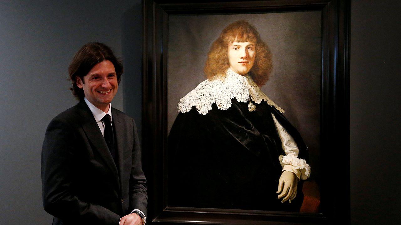 Rembrandt'a ait olduğu iddia edilen tablo görücüye çıktı