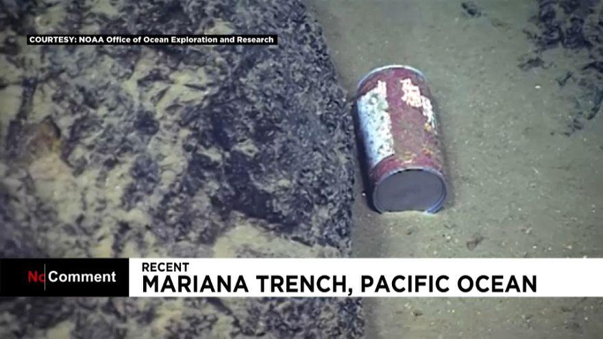 شاهد: تفاقم تلوث المحيطات
