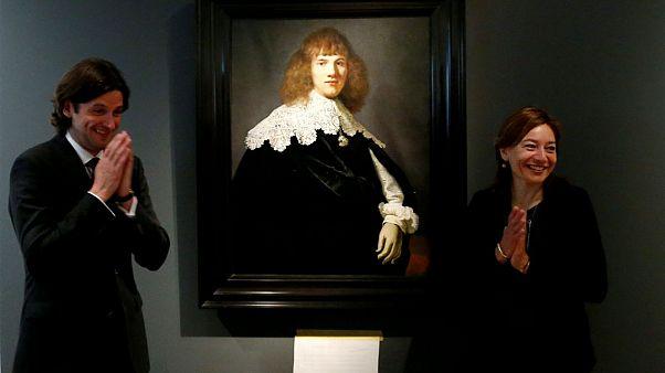 Amszterdamban az eddig rejtett Rembrandt