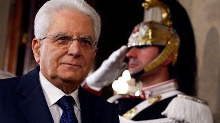 Sergio Mattarella olasz államfő a kormányalakítás egyik főszereplője