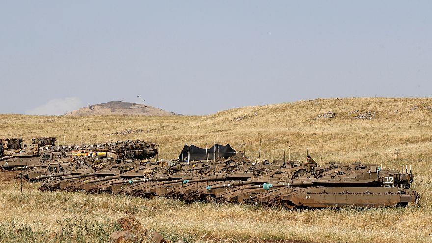 آژیر خطر حمله هوایی اشتباها در بلندیهای جولان به صدا درآمد