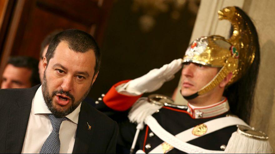 ماتئو سالوینی، رهبر حزب راست افراطی لیگ