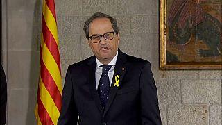 Torra, nuevo presidente de la Generalitat entre la polémica y el 155