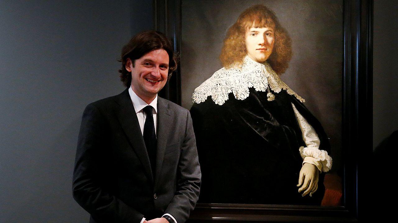 Il a eu l'oeil pour découvrir un Rembrandt méconnu