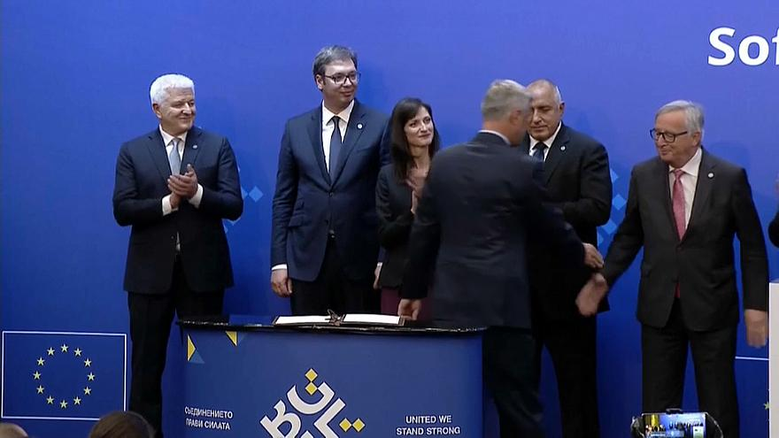 EU's summit with Western Balkan nations promises path to membership