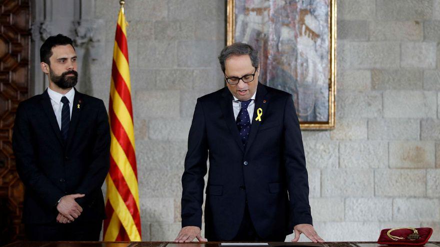 Az ellenzék rasszistának tartja az új katalán elnököt