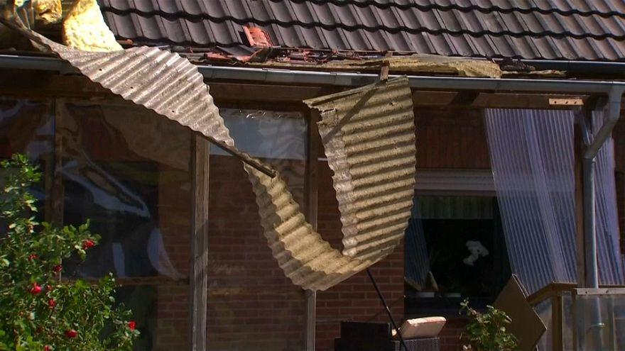Impresionante tornado en Alemania