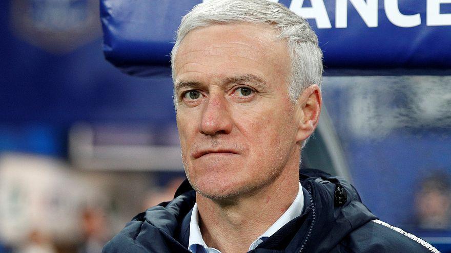 Didier Deschamps, sélectionneur de l'équipe de France de football