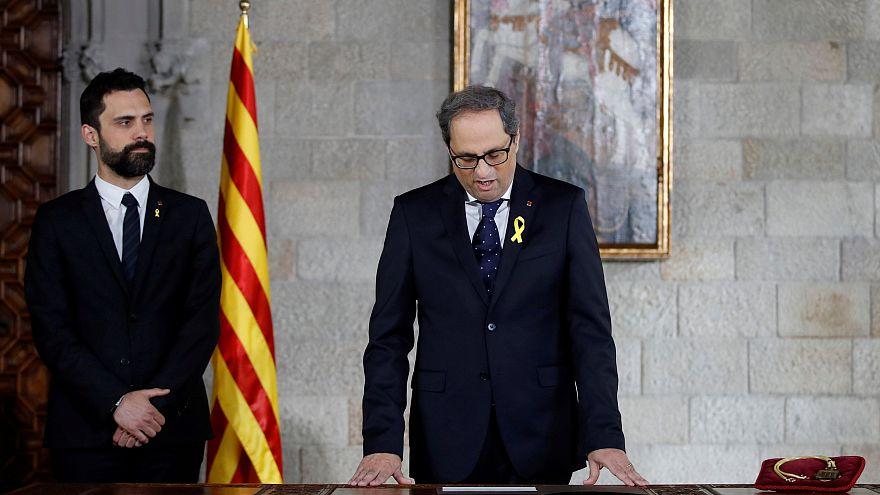 Katalonya'da Quim Toro dönemi resmen başladı