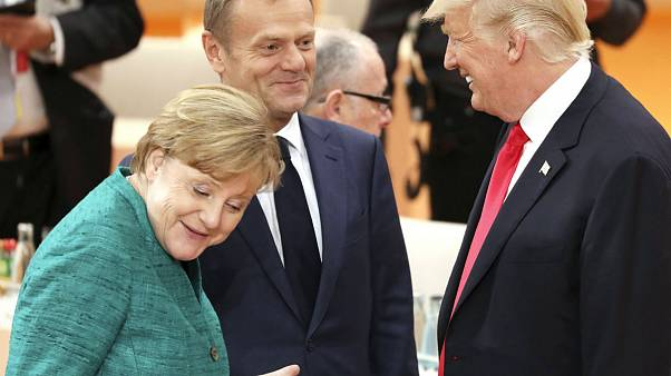 G20-csúcs Hamburgban, 2017. július 8.