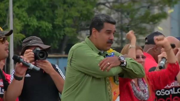 Venezuela's president Nicolas Maduro seeks another six years in power