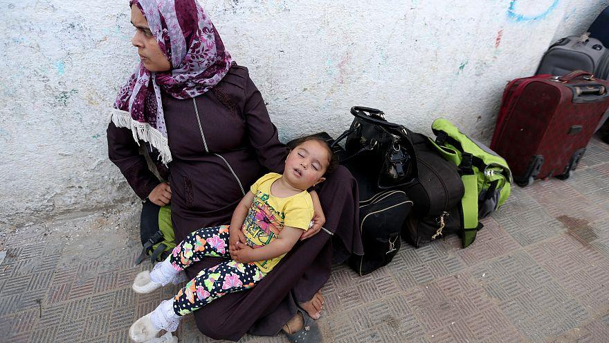Ägyptischer Grenzübergang zum Gazastreifen während Ramadan geöffnet