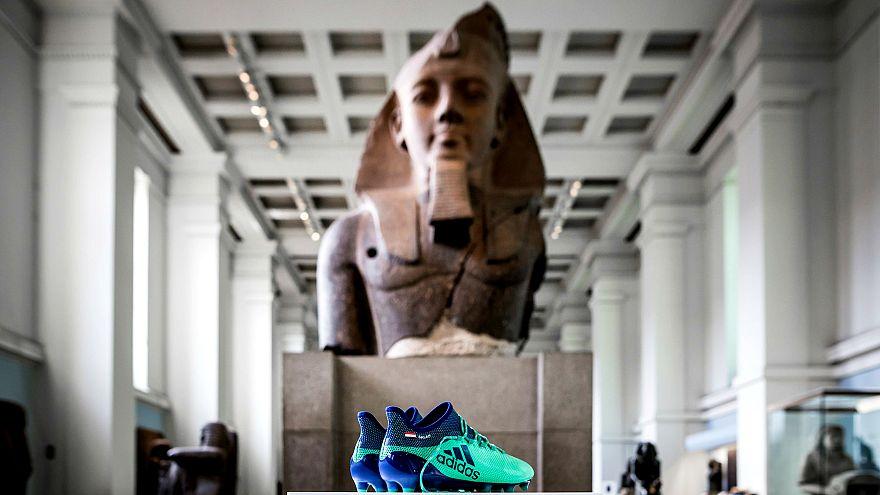 Muhammed Salah'ın kramponları British Museum'da