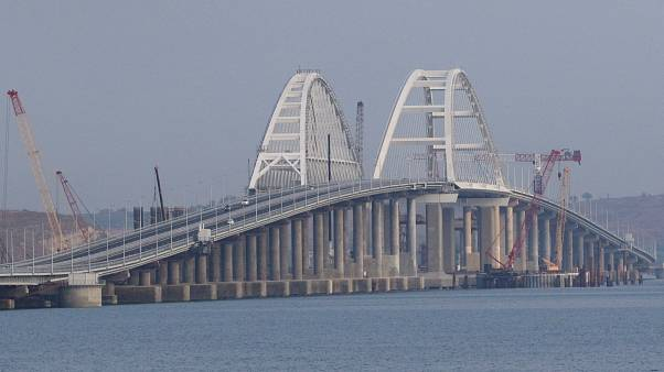New bridge cements Russia's hold on Crimea