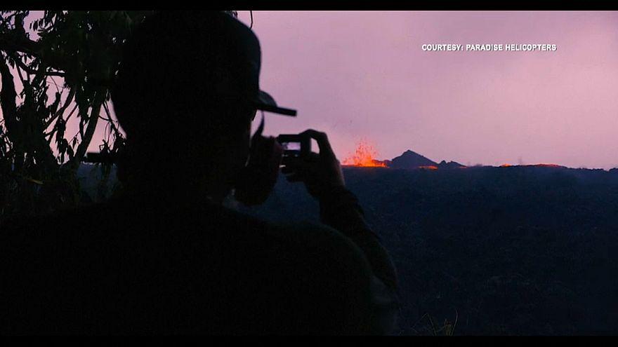 Kilauea spuckt Feuer