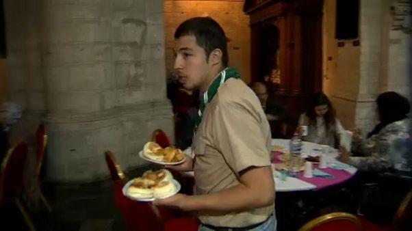 A Ramadán első napjának estéjén ünnepeltek