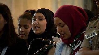Una ceremonia ecuménica celebra el principio del Ramadán