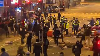 Hong Kong: Activist found guilty of rioting in 2016