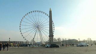 Pariser Riesenrad wird abmontiert