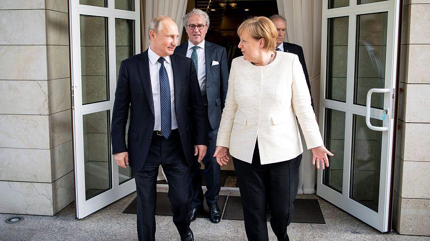 Szocsiban találkozott az orosz és a német államfő