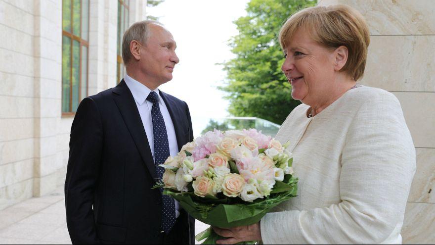 پوتین: اگر آمریکا در برابر پروژه گازی آلمان-روسیه بایستد، مقابله میکنیم