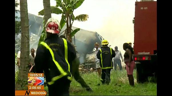 Flugzeugabsturz in Havanna: Viele Tote, nur wenige Überlebende
