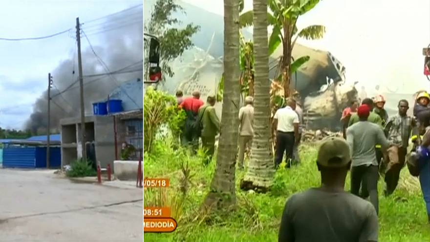 Over 100 dead after passenger plane crashes in Cuba