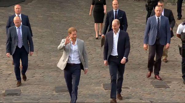 خاندان سلطنتی بریتانیا؛ شاهزاده هری در آستانه مراسم ازدواجش با علاقمندان دیدار کرد