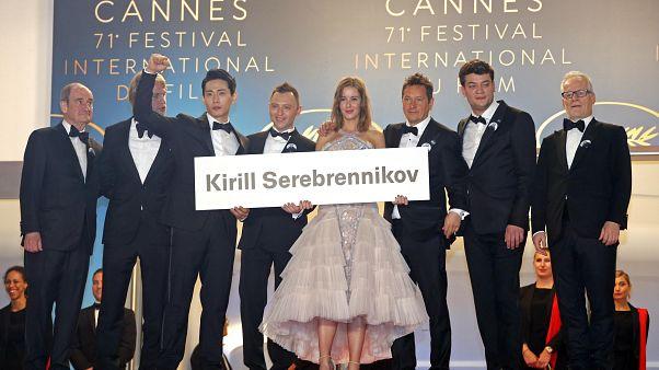 Cannes Film Festivali sansüre uğrayan film ve yönetmenlere sahip çıktı